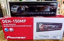 PIONEER DEH-150MP CD WMA / MP3 Autoradio CD RDS Receiver w/ Remote