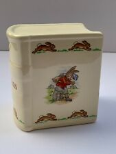 Royal Doulton Bunnykins Savings Book Bank