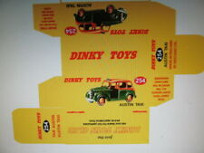 REPRODUCTION DINKY AUSTIN TAXI No 254 BOX - BOX ONLY - FREE POST