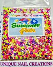 Limited Edition Glitter Mix~*SUMMER FUN* Comes With Alloy~ Nail Art