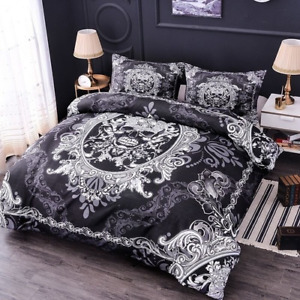 3D Halloween Skull Digital Printed Duvet Cover Bedding Sets with Pillow Case