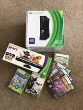 Xbox 360 S 4GB with Kinect and 6 games!!!