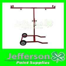 T BAR STAND W/ WHEELS  BUMPER BARS - GUARDS - Panel Stand - Work Bench -Painting