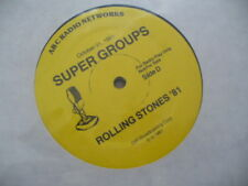 ROLLING STONES Live 1981 triple promo only