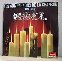 33 tours COMPAGNONS DE LA CHANSON Disque Vinyle LP CHANTENT NOËL -POLYDOR 658166