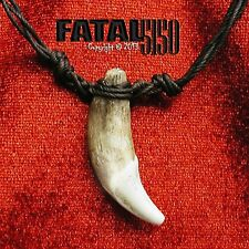 """Spartan Leonidas Wolf Fang Necklace (Large 2""""+)! - 300 movie tooth teeth pendant"""