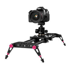 40 inches Camera Slider for DSLR Carbon Fiber Dolly Track with 26.5lbs Loading