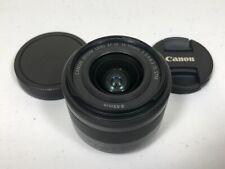 Canon EF-M 15-45mm f/3.5-6.3 IS STM Zoom lens