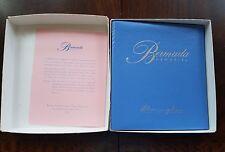 BERMUDA Storybook Memory PHOTO ALBUM Stonington Beach Hotel Vintage
