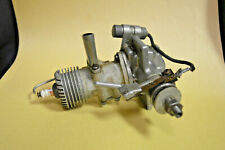 Vintage Dennymite Model Airplane Engine with Champion Plug D584