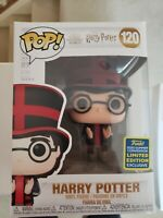 Funko Pop! 2020 SDCC Harry Potter at World Cup Exclusive + Protector