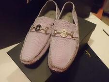 BILLIONAIRE Italian Couture Mocassino Uomo  Pitone  Fibia  size 44 € 1.510,00