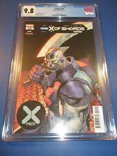 X-men #14 X of Swords CGC 9.8 NM/M Gorgeous gem