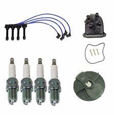 Acura Integra B18C1 NGK Blue OEM Tune Up Kit Cap Rotor Spark Plugs Wire Set