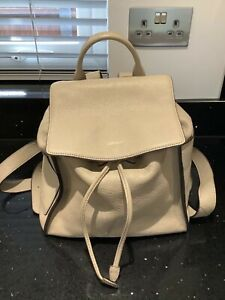 Dkny rucksack backpack leather