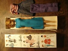 VINTAGE  1962 or 1963 BUBBLE CUT BARBIE ASH BLONDE #850 WITH BOX