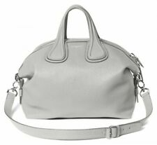 Sale! MINT Authentic Givenchy Nightingale Small Waxy Goatskin Pearl Grey