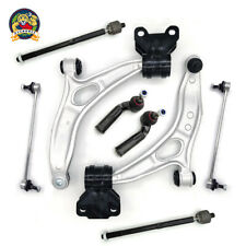8pc Steering Suspension Kit Control Arms Ball Joints Tie Rods End Links For Ford