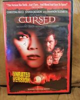 CURSED DVD 2005 WES CRAVEN CHRISTINA RICCI MINT CONDITION FREE SHIPPING