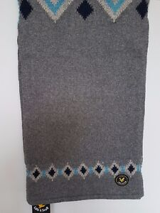 Lyle & Scott Vintage Gents Woollen Scarf - SCO52V25S