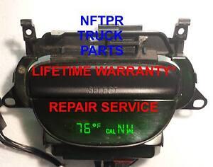 FORD F-150 E-150 OVERHEAD CONSOLE COMPASS TEMPERATURE COMPUTER REPAIR SERVICE