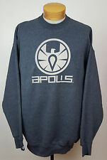 Apolis The Visionary Projekt Gray Logo Printed Crewneck Pullover Sweater Sz 2XL