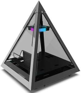 Azza CSAZ-804V Pyramid Innovative PC Case W/RGB Fan
