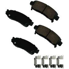 Disc Brake Pad Set-Performance Ultra Premium Ceramic Pads Rear Akebono ASP883A