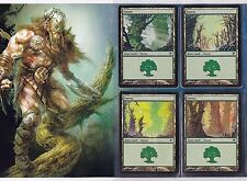 MTG - Scars of Mirrodin - 1x Complete 20 Card Basic Land Set - NM/MINT