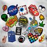 DIY Embroidery Patches Sew On Iron On Badge Applique Hat Craft Sticker Transfer