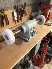 Bench Polisher - Bench buffer - buffing wheel