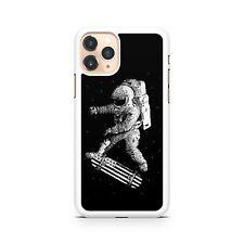 Astronauta Spaceman Skate Espacio Oscuro Galaxy Espacio Funda de Teléfono