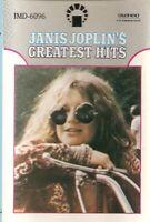 Janis Joplin .. Greatest Hits.. Import Cassette Tape