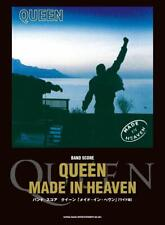 Queen Made In Heaven Wide Edition Japan Sheet Music Band Score Freddie Mercury