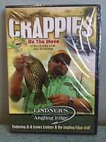 Lindner's Angling Edge - Crappies On the Move, Strategies -  DVD NEW Sealed