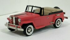 Brooklin 1/43 1948 Willy's Overland Jeepster Roadster BRK-161A RED NO BOX