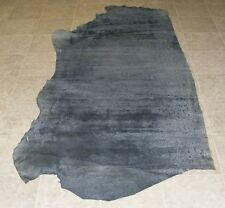 (Wze8583-1) Hide of Grey Printed Cow Leather Hide Skin
