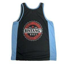 BINTANG BALI BEER LOGO PRINT SINGLET TANK TOP SOUVENIR FROM INDONESIA LARGE