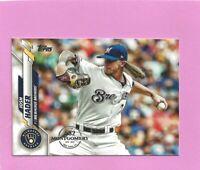 2020 Topps 582 Montgomery Club Foil Stamp #559 Josh Hader Milwaukee Brewers
