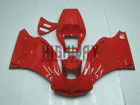 For DUCATI 748 916 996 998 1996-2002 Red Fairings Bodywork Kit ABS Plastic