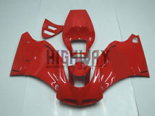 Verkleidung Injection Komplettverkleidung für DUCATI 748 916 996 998 96-02 Rot