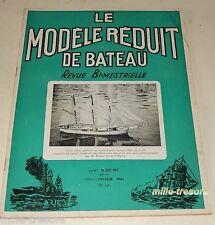 Le MODELE REDUIT de BATEAUX N°98 1961 : Brise-glace LENIN - ARMERIA - FRANC-BORD