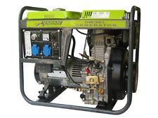 Diesel Generator Stromerzeuger Stromaggregat 5000W 230V + Elek-Start & Batterie