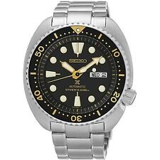 SEIKO MEN'S PROSPEX SEA 45MM STEEL BRACELET & CASE AUTOMATIC WATCH SRP775K1