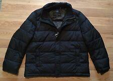 NWOT Men's ANDREW MARC Black Full Zip Puffer Jacket Coat Size Large L