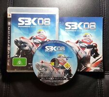 SBK 08 Superbike World Championship (Sony PlayStation 3, 2008) PS3 - FREE POST