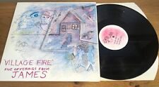 James - Village Fire - Five Offerings from James - Factory Records Vinyl