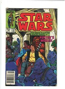 Star Wars #85 VF+ 8.5 Newsstand Marvel Comics 1984 Han Solo Lando & Chewbacca
