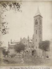 c.1880's PHOTO INDIA  - ENGLISH CHURCH CAWNPORE - GAY