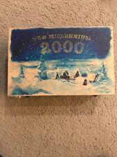 Kurt Sadler New Millenium 3 Piece Ornament Set in Box